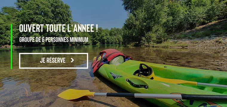 canoe herault hiver