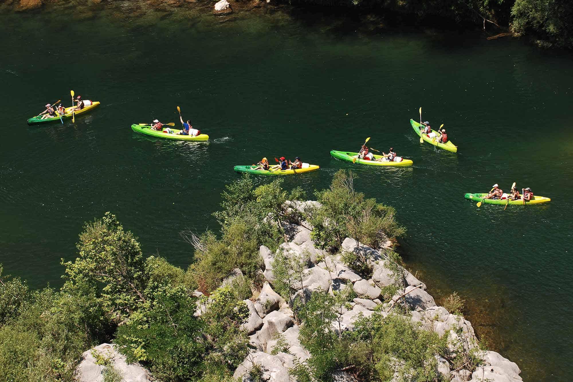 canoe cevennes